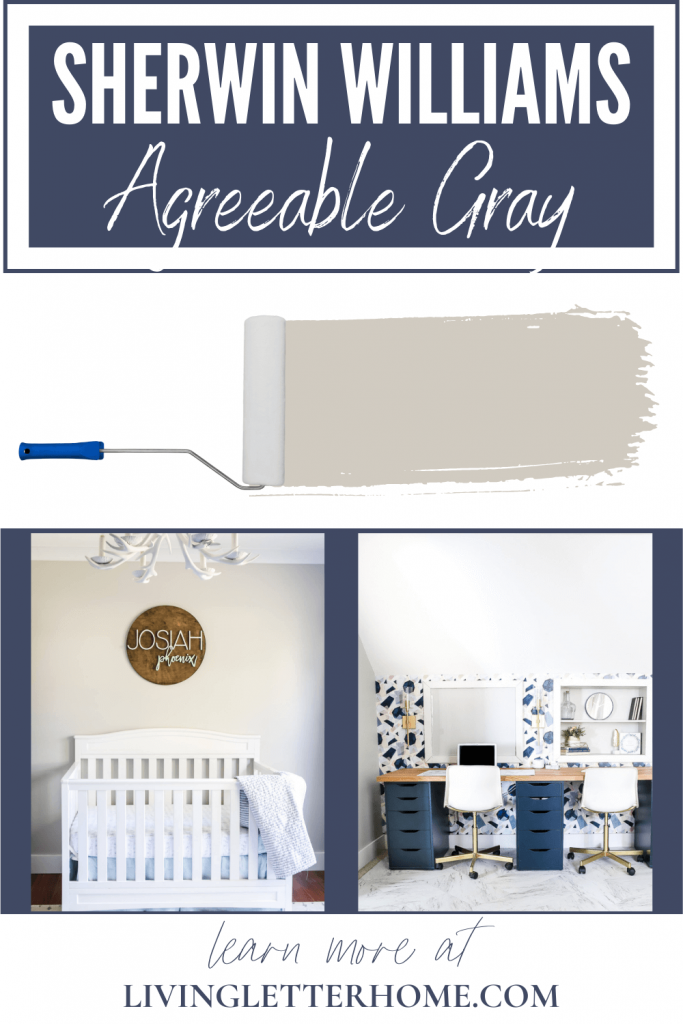 Sherwin Williams Agreeable Gray graphic