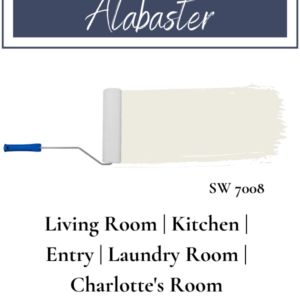Sherwin Williams Alabaster in what rooms of the house